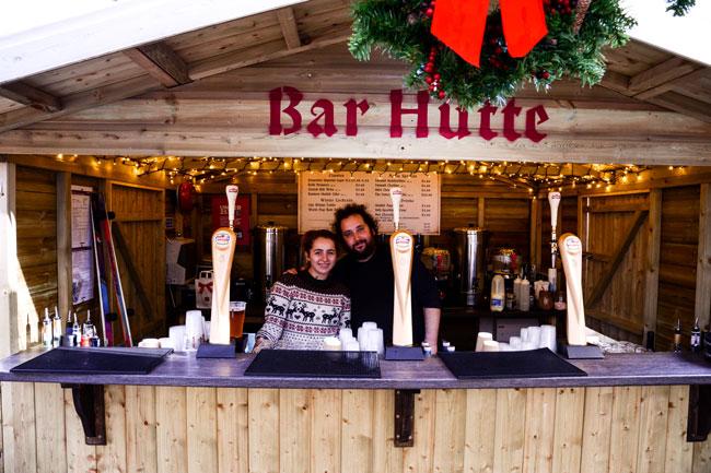 Bar-Hutte
