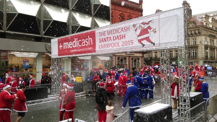 Liverpool Santa Dash 2015