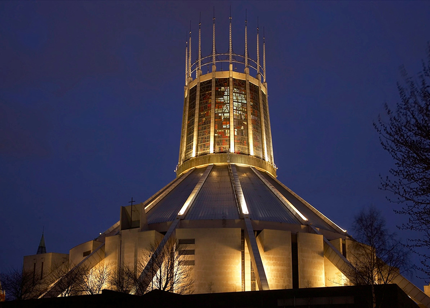 25 Photographs Celebrating Liverpool Metropolitan Cathedral 11