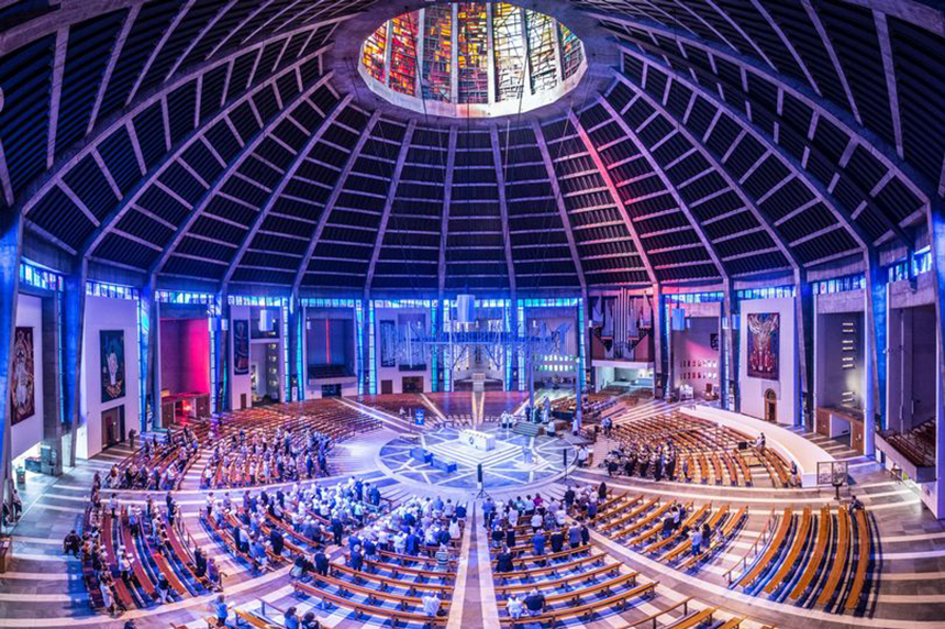 25 Photographs Celebrating Liverpool Metropolitan Cathedral 14