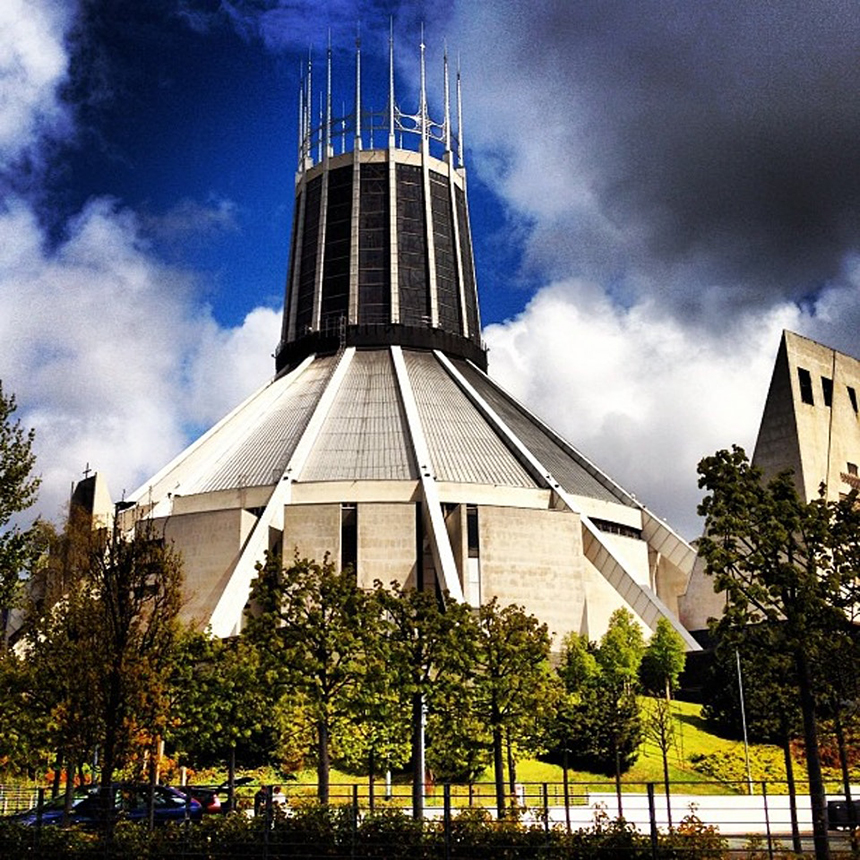 25 Photographs Celebrating Liverpool Metropolitan Cathedral 21