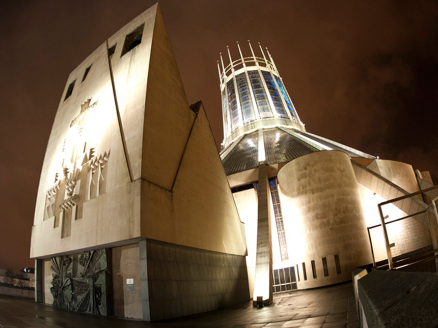 25 Photographs Celebrating Liverpool Metropolitan Cathedral 24