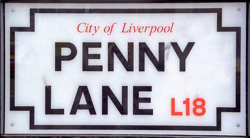 penny lane liverpool